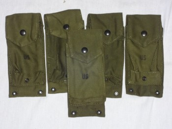 USMC M-61 USMC Pocket, Ammo, Mag, M-14 Rifle