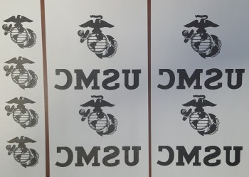 USMC Iron-On Transfer, Sheet