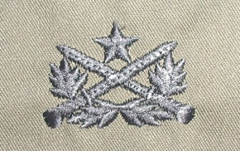 Vietnamese (RVN) Ranger Qualification Badge. Embroidered.