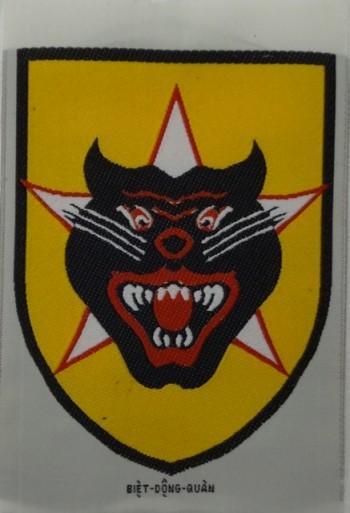 Vietnamese (RVN) Ranger (BDQ) Division. Woven.