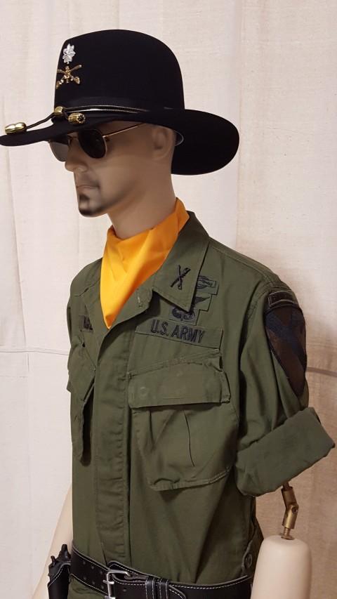 1//6 Scale Fabric Patches Apocalypse Now Lieutenant Colonel Kilgore action figs