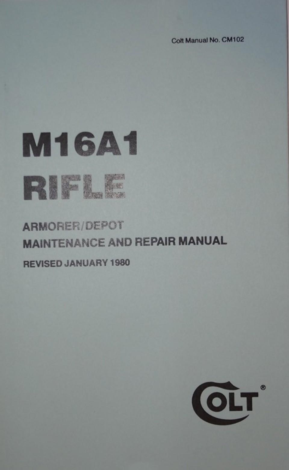 M 16 armorers Manual